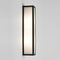 1178001 Salerno Outdoor Wall Light Black