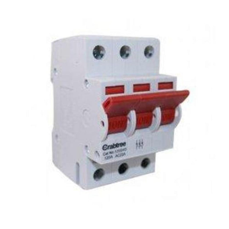 Crabtree 125SW3 125A TP Loadstar Incomer Kit - SND Electrical Ltd