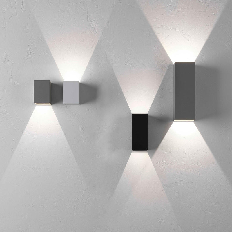 1298002 Oslo 160 LED Outdoor Wall Light Black
