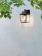 1340004 Richmond 200 Outdoor Wall Light Black