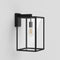 1354007 Box 450 Outdoor Wall Light Black