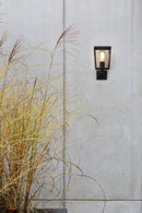 1366001 Farringdon Outdoor Wall Light Black