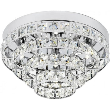 Endon MOTOWN-4CH Motown 4 Light Chrome Flush Light