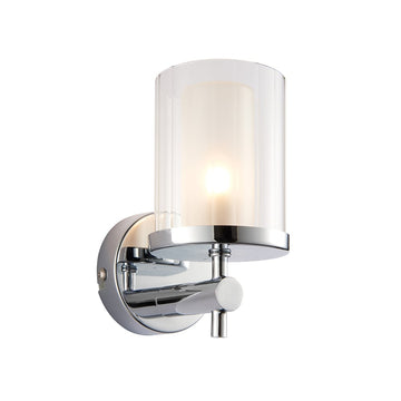Endon 51885 Britton Chrome Indoor Wall Light