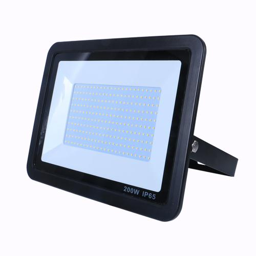 SND Electrical 200W Floodlight 6500K Black (Non PIR)
