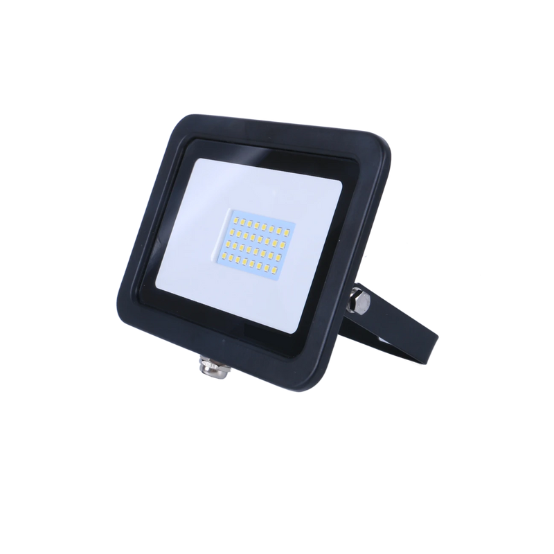 SND Electrical FLSMD20W/6K/B -5 20w Floodlight 6500k Black (Non PIR) - SND Electrical Ltd
