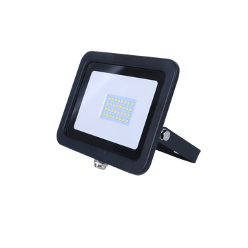 SND Electrical FLSMD20W/3K/B -6 20w Floodlight 3000k Black (Non PIR)