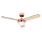 "MiniSun 24351 Taurus Copper 42"" Ceiling Fan With Remote Control - SND Electrical Ltd"