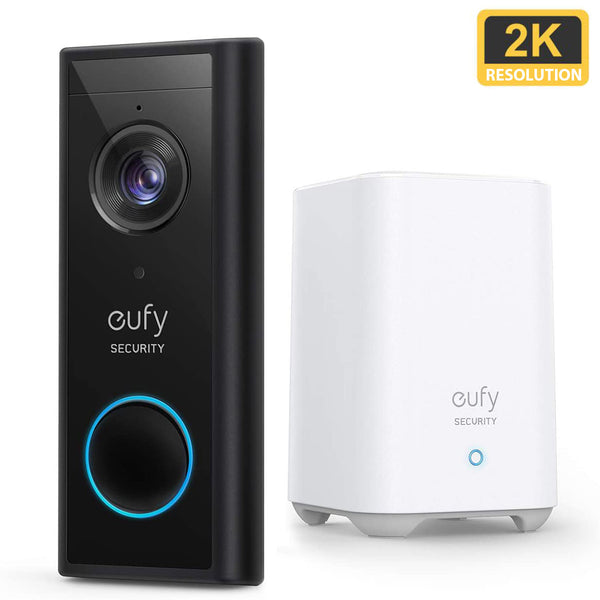 Eufy Video Doorbell 2K (Battery-Powered) with HomeBase 2