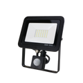 SND Electrical FLSMD30W/PIRO/6K/B -8 30w Floodlight 6500k Black (PIR)