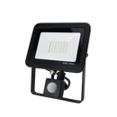 SND Electrical FLSMD30W/PIRO/6K/B -8 30w Floodlight 6500k Black (PIR) - SND Electrical Ltd