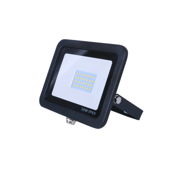 SND Electrical 30w Floodlight 6500k Black (Non PIR) - SND Electrical Ltd