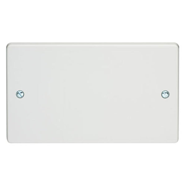 Crabtree Capital 4002 2 Gang Blank Plate - SND Electrical Ltd