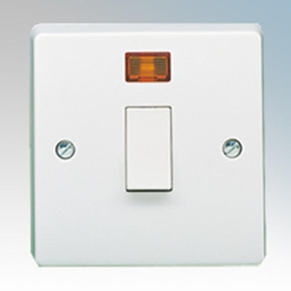 Crabtree Capital 4015/3 20A Dp Switch & Neon - SND Electrical Ltd