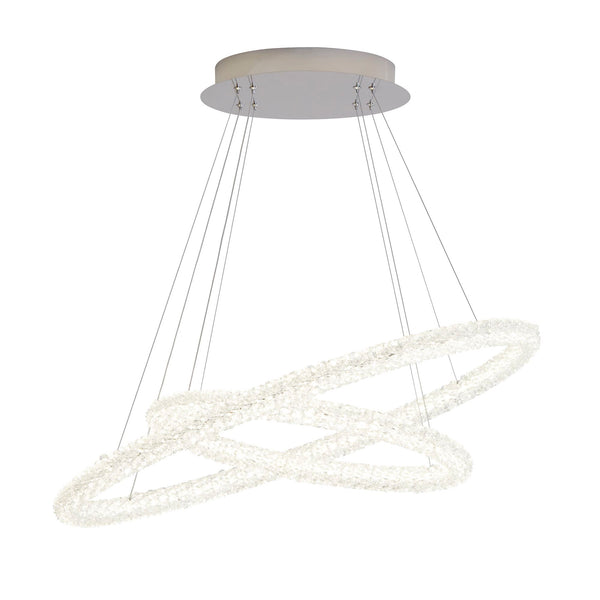 42610-2CC Ring Crystal Ceiling Suspended Light