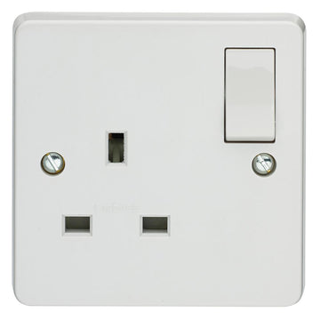 Crabtree Capital 4304/D 13A 1 Gang Dp Switched Socket