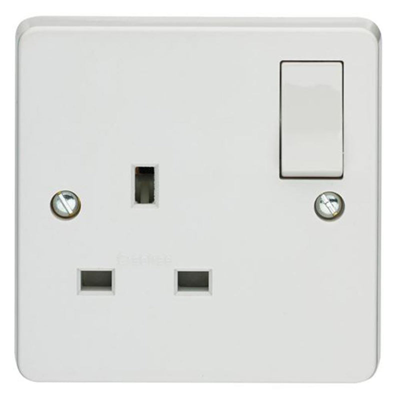 Crabtree Capital 4304 13A 1 Gang Switched Socket - SND Electrical Ltd