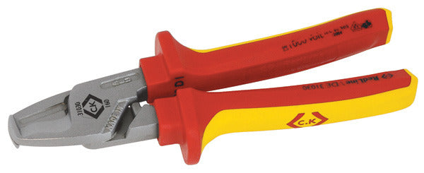 CK Tools 431030 RedLine VDE Heavy Duty Cable Shears 165mm
