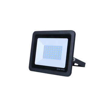 SND Electrical FLSMD50W/6K/B -6 50w Floodlight 6500k Black (Non PIR)