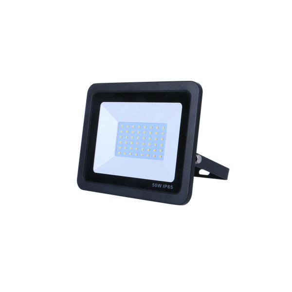 SND Electrical 50w Floodlight 6500k Black (Non PIR) - SND Electrical Ltd