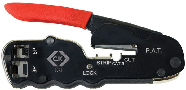 CK Tools T0957-1 Compact Crimper for Modular Plugs