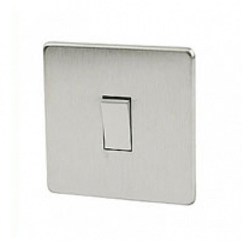 Crabtree Platinum 7011-SC 1 Gang 20A 1 Way Switch Satin Chrome - SND Electrical Ltd