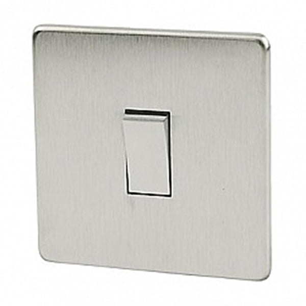 Crabtree Platinum 7015-SC 45A DP Switch Satin Chrome - SND Electrical Ltd