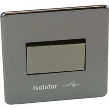 Fan isolator Switch Crabtree Platinum Black Nickel