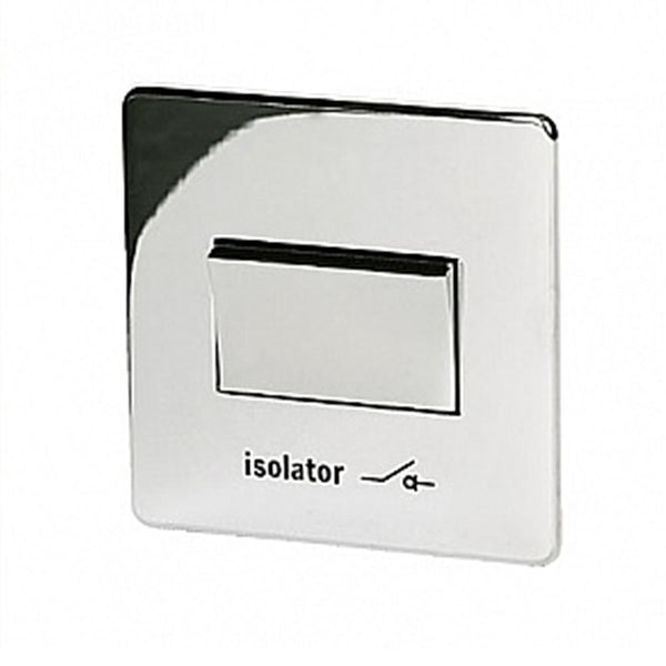 Crabtree Platinum 7017-HPC Fan isolator Switch Highly Polished Chrome - SND Electrical Ltd