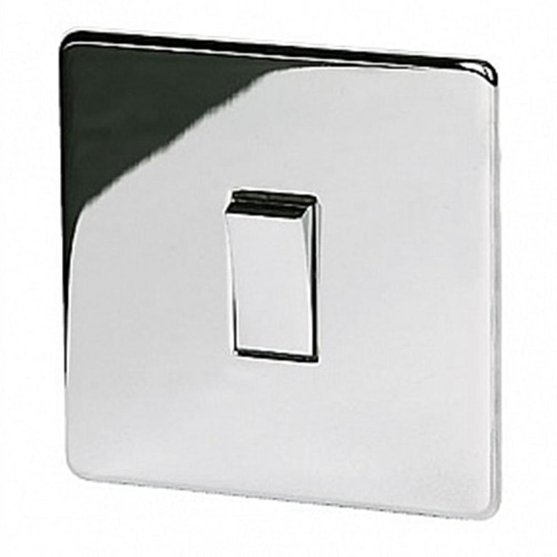Crabtree Platinum 7175-HPC 1 Gang Intermediate Switch Highly Polished Chrome - SND Electrical Ltd