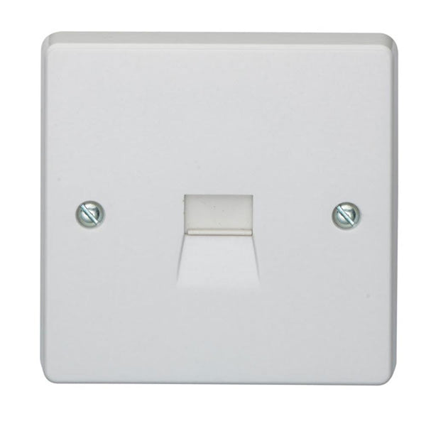 Crabtree Capital 7283 Telephone Master Socket - SND Electrical Ltd