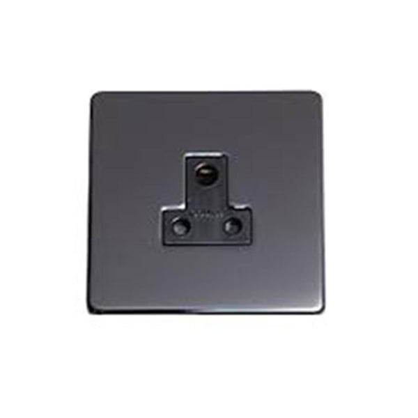 Crabtree Platinum 7340-BKN 5A Socket Black Nickel - SND Electrical Ltd