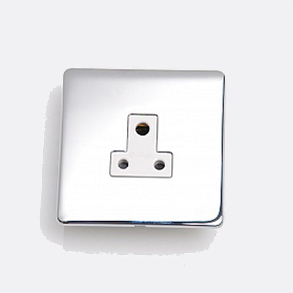 Crabtree Platinum 7340-HPC 5A Socket Highly Polished Chrome - SND Electrical Ltd