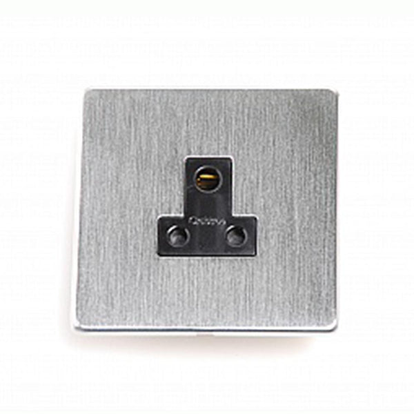 Crabtree Platinum 7340-SC 5A Socket Satin Chrome - SND Electrical Ltd