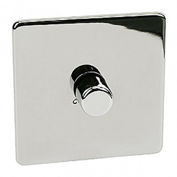 Crabtree Platinum 7400-D1-HPC 1 Gang Dimmer Highly Polished Chrome - SND Electrical Ltd