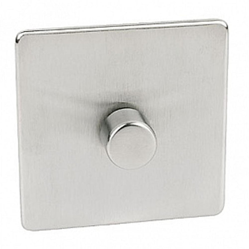 Crabtree Platinum 7400-D1-SC 1 Gang Dimmer Satin Chrome - SND Electrical Ltd