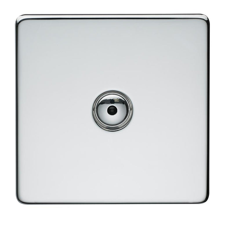 Crabtree Platinum 7400-RD1-HPC 1 Gang Remote Dimmer Highly Polished Chrome - SND Electrical Ltd