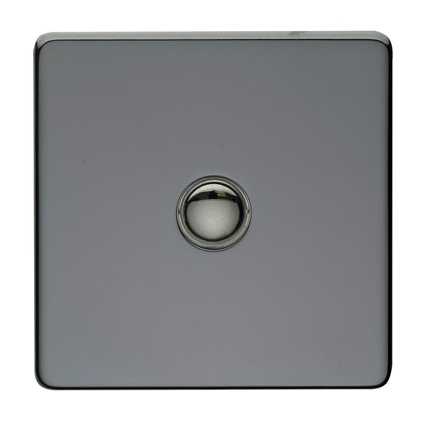 1 Gang Touch Dimmer Crabtree Platinum Black Nickel - SND Electrical Ltd