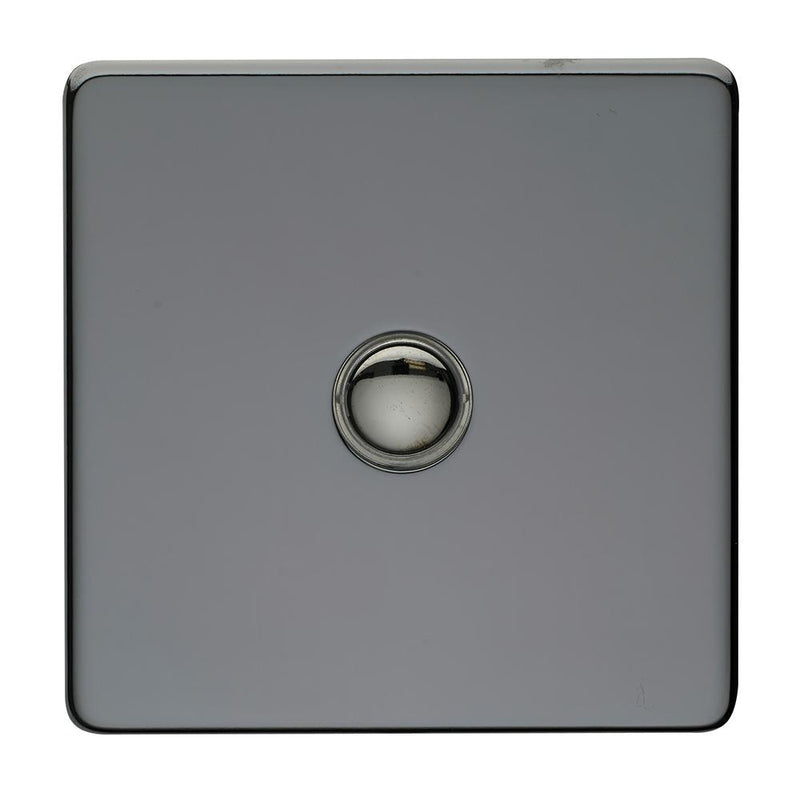 Crabtree Platinum 7400-TD1-BKN 1 Gang Touch Dimmer Black Nickel - SND Electrical Ltd