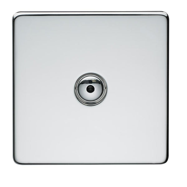 Crabtree Platinum 7400-TD1-HPC 1 Gang Touch Dimmer Highly Polished Chrome - SND Electrical Ltd
