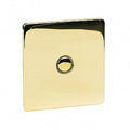 1 Gang Touch Dimmer Crabtree Platinum Brass