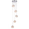 Endon 77566 Talia 5 Light Multi Light Pendant