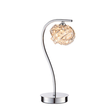 Endon 77568 Talia Chrome Touch Table Lamp