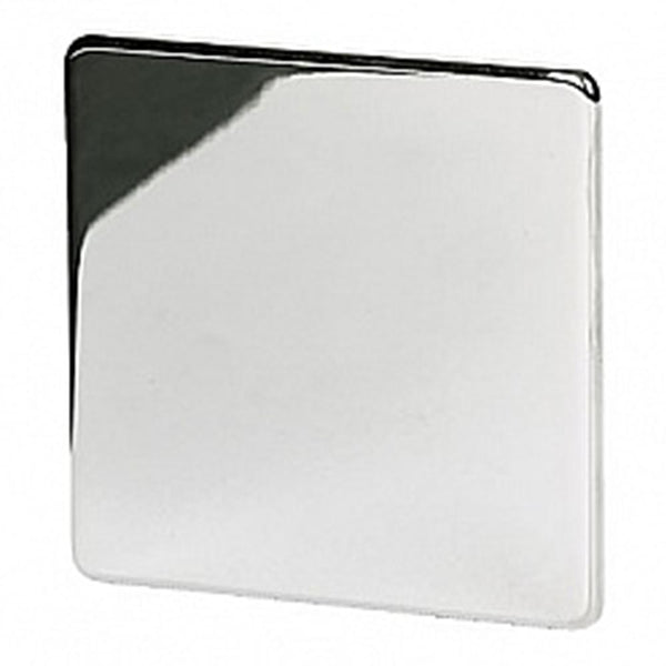 1 Gang Blank Plate Crabtree Platinum Satin Chrome - SND Electrical Ltd