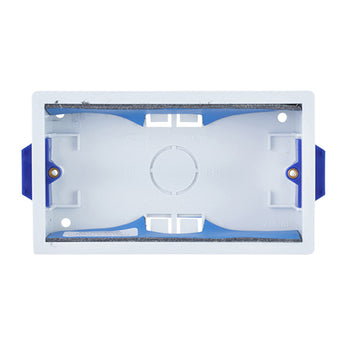 SND Electrical 908 2 Gang 35mm Dry Lining Box