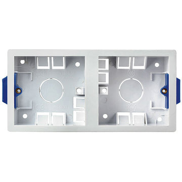 SND Electrical 916 Dual 35mm Dry Lining Box
