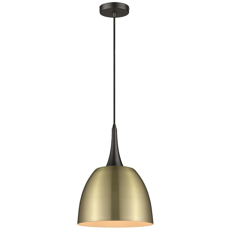 SND Lighting SND101 Aston Single Pendant Antique Brass - SND Electrical Ltd