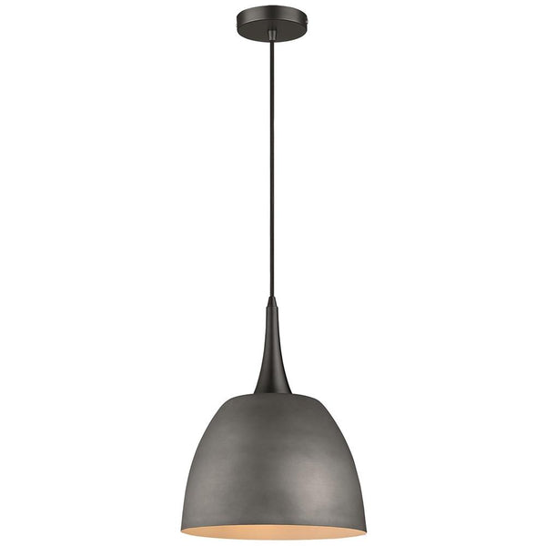 SND Lighting SND102 Aston Single Pendant Cement - SND Electrical Ltd