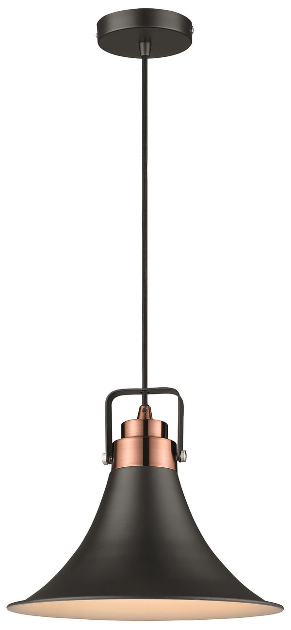 SND Lighting SND109 Angel Single Pendant Satin Nickel - SND Electrical Ltd