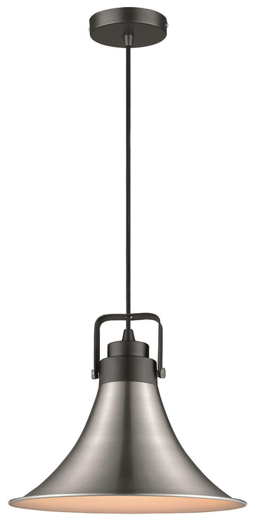 SND Lighting SND110 Angel Single Pendant Matt Black